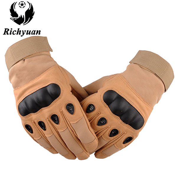 Us Military Tactical Gloves Outdoor Sports Army Full Finger Made from Slip-resistant Carbon Fiber