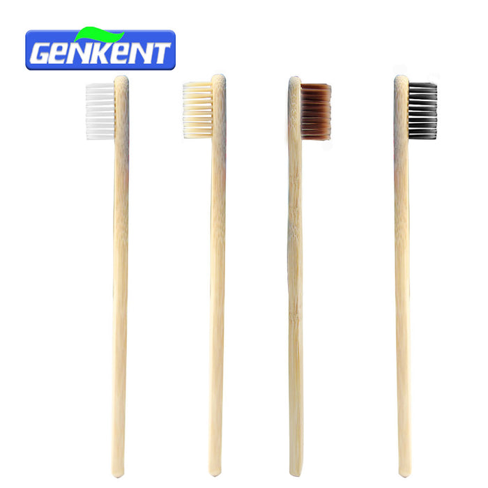 [Genkent] 1 PC Adult Bamboo Wood Novelty Toothbrush