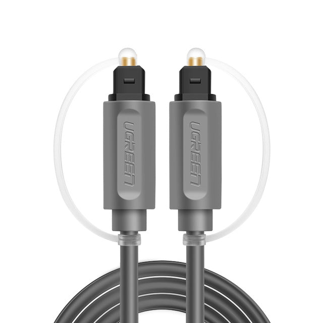 Ugreen Digital Optical Audio Cable Toslink 1m 3m SPDIF Coaxial Cable for Amplifiers Blu-ray CD DVD Player Xbox 360 PS3 Soundbar