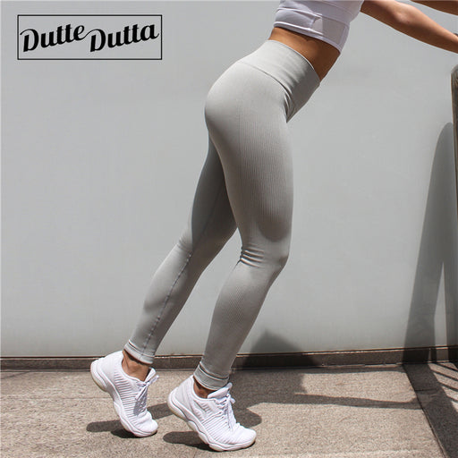 Tights Sportswear for Women, Gym Yoga Pants, Seamless Sport Leggings  For Fitness Compression