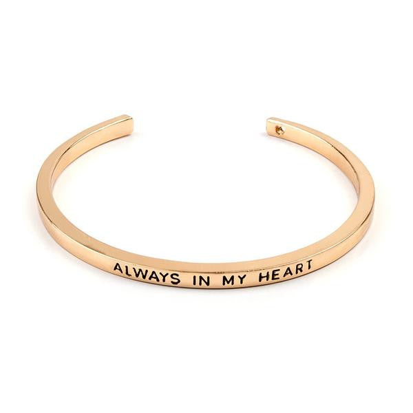 Always In My Heart Cuff Bangle