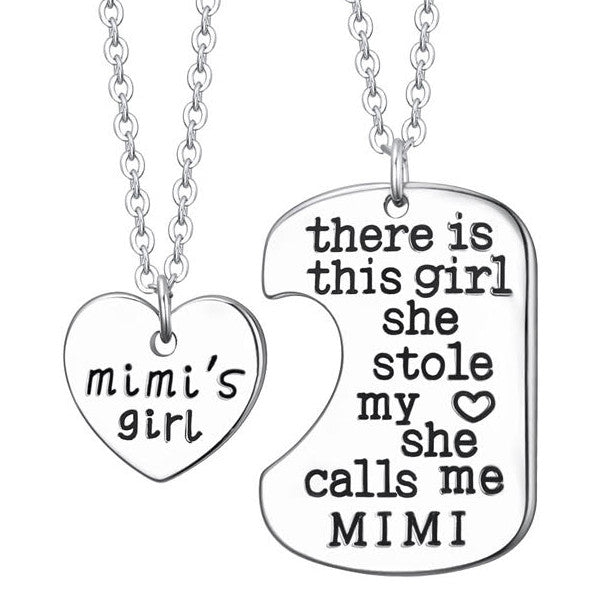 Mimi's Girl Pendant Set