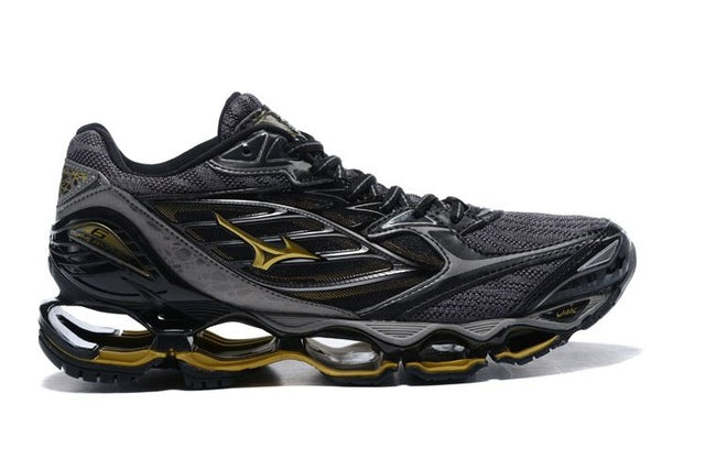 2018 Original Mizuno Wave Prophecy 6 Men Shoes Air Cushioning Sneakers Breathable Mesh Weight lifting Shoes Size 40-45