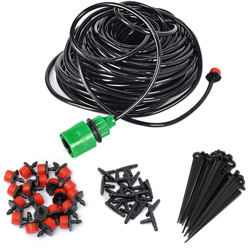 New 5m/15m/25m DIY Drip Irrigation System, Automatic Plant  Watering Garden Hose, Micro Drip Garden Watering System