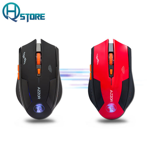 Noiseless Wireless Mouse Optical Mouse Gaming Silent usb rechargeable Mice 2400dpi Built-in Battery For PC Laptop Computer
