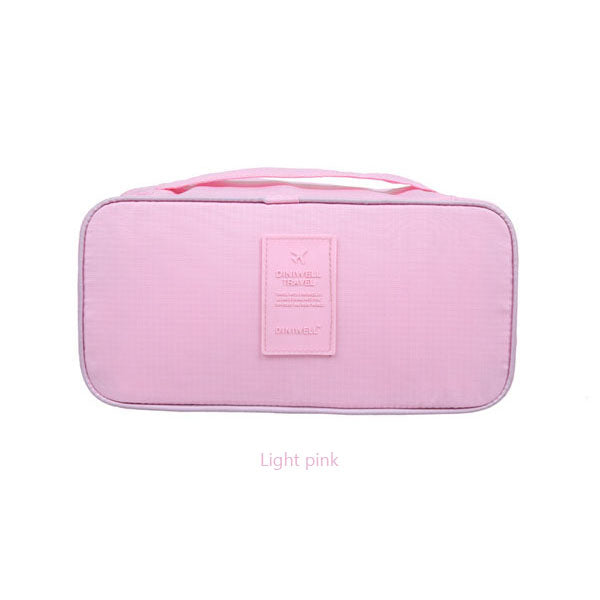 Bra Underwear Storage Bag Waterproof Nylon Travel  Portable Makeup Organizer Handbag Cosmetic Container