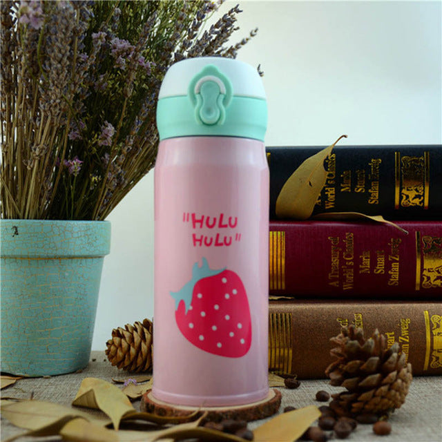 Double Wall Stainless Steel Vacuum Flasks , Thermos Cup  for Coffee/Tea/Milk, Travel Mug, 500ml