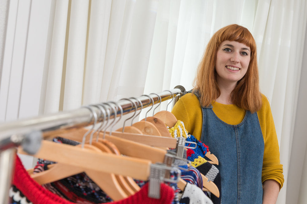 Meet The Designer: Kate, Knitwear Designer Spinning Waste Into Want