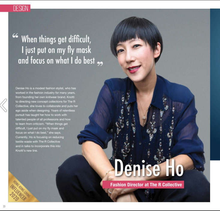 Denise Ho Creative Director for The R Collective