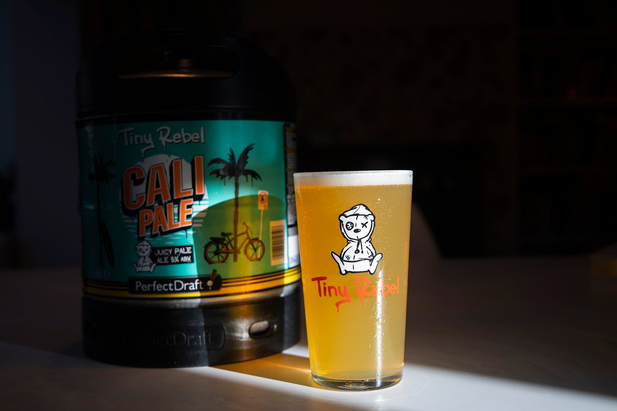 Tiny Rebel Cali Pale Ale now on PerfectDraft
