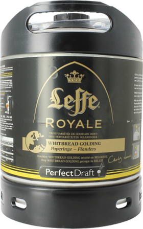 Leffe Royale Whitbread Golding 6 Litre PerfectDraft Keg