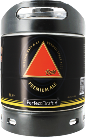 Bass Premium Pale Ale 6 Litre PerfectDraft Keg