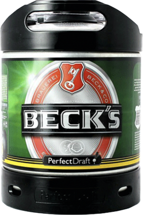 Beck's 6-litre PerfectDraft Keg
