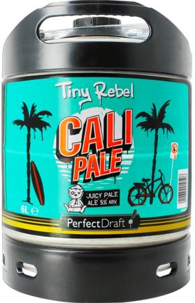 Tiny Rebel Cali Pale Ale 6-litre PerfectDraft Keg