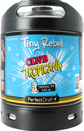 Tiny Rebel Clwb Tropicana 6-litre PerfectDraft Keg