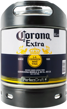 Corona 6-litre PerfectDraft Keg
