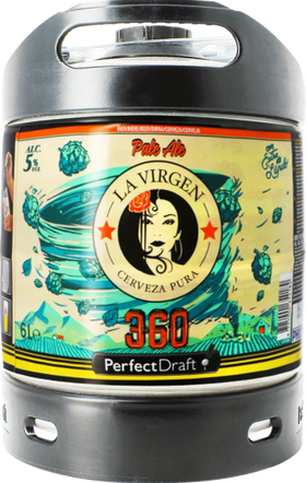 La Virgen 360 6-litre PerfectDraft Keg