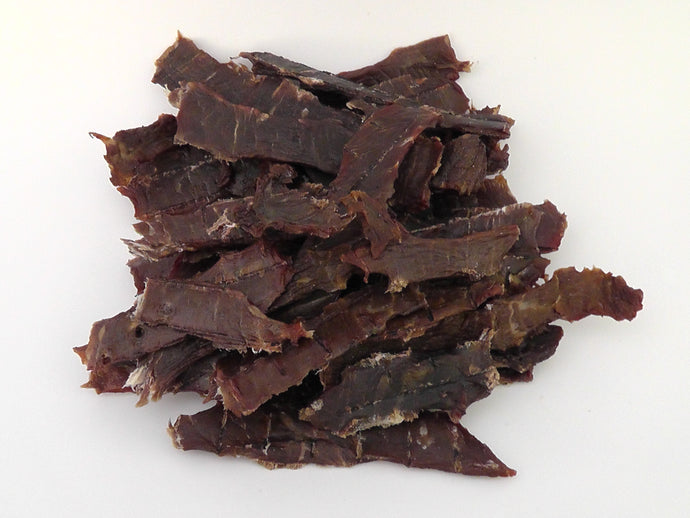 Natural Beef Jerky Bulk buy 200g - Scottish Beef Jerky - Smoky Barrel Jerky