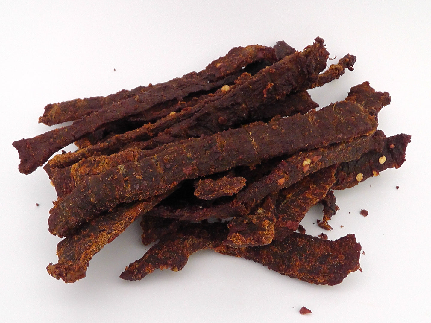 Spicy Beef Jerky Bulk buy 200g - Scottish Beef Jerky - Smoky Barrel Jerky
