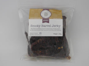 Whisky Beef Jerky 50g snack pack - Scottish Beef Jerky - Smoky Barrel Jerky
