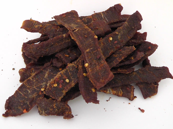 Whisky Beef Jerky Bulk buy 200g - Scottish Beef Jerky - Smoky Barrel Jerky