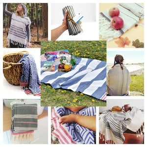Turkish Towels Hand towels multipurpose - TurquoiseIslandStore