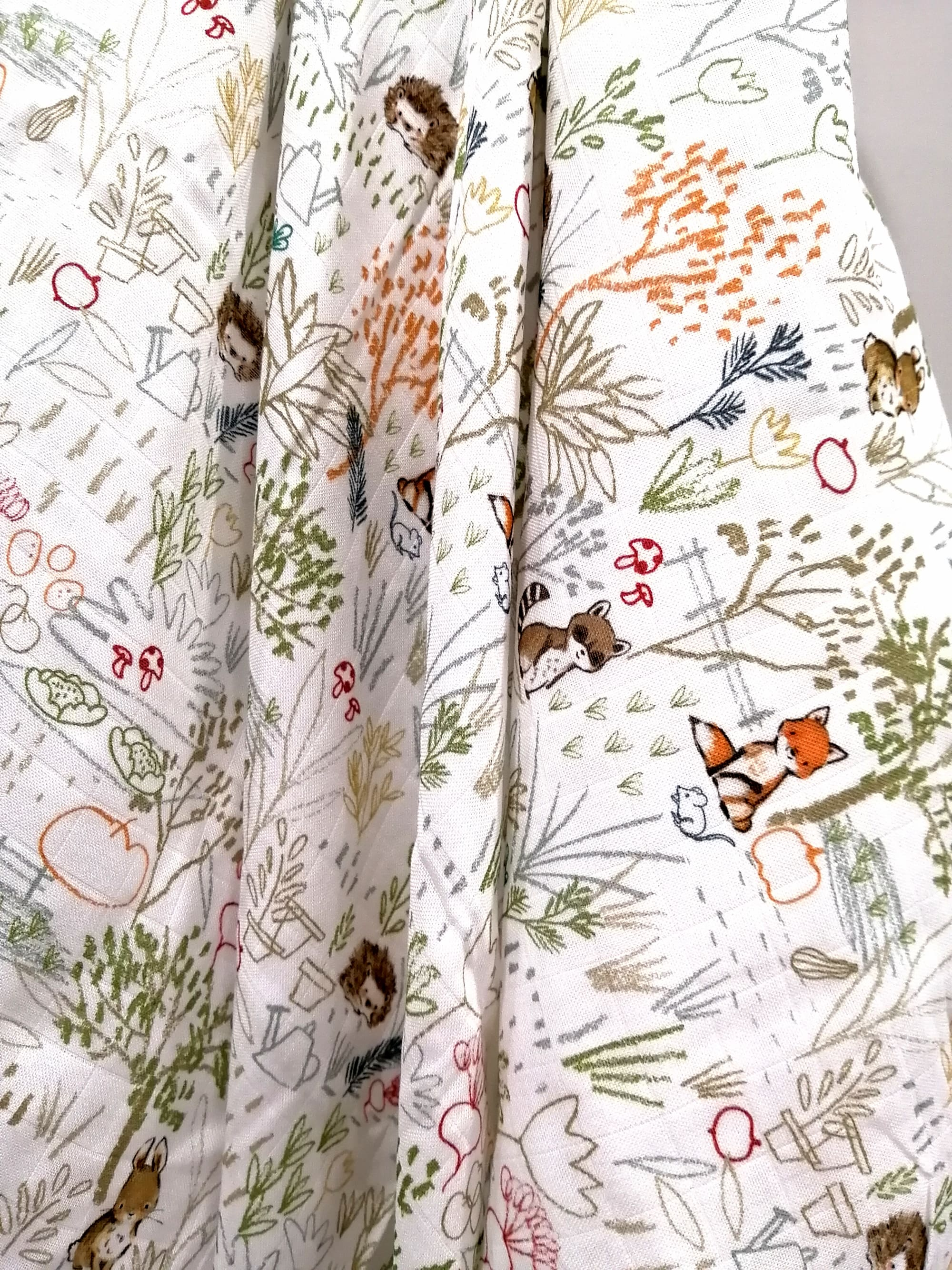 Woodland Baby Towels