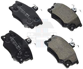Front Brake Pads HF Turbo GTie and HF4WD