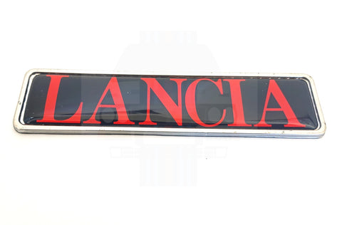 'Lancia' Tailgate Badge integrale and HF Turbo