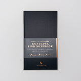 Kunisawa Hard cover Smartnote Notebook Black 40 pages