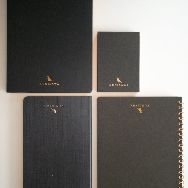 Black Kunisawa notebook Collection