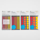 Stālogy Masking Dots Hot Coloured stickers