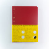 Stālogy Editor's Series 365 Day A5 Notebook Red