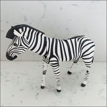 Load image into Gallery viewer, 3D Card Zebra Top to Tail - 3D Model