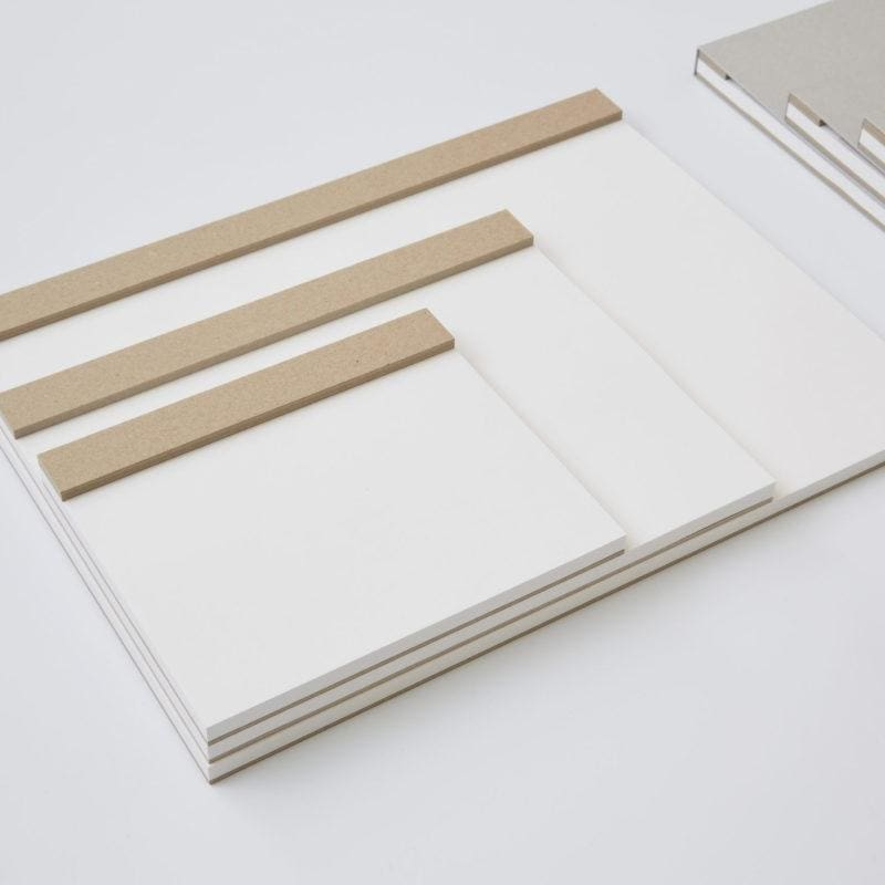 Art Drawing Pad White Paper - notebooks Japanese Stationery