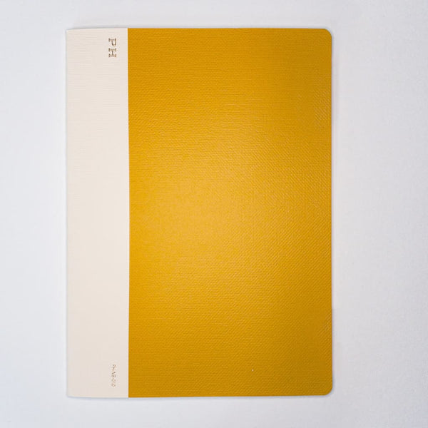 B5 Penco Hightide Cheesecloth Notebook Mustard - notebooks Japanese Stationery