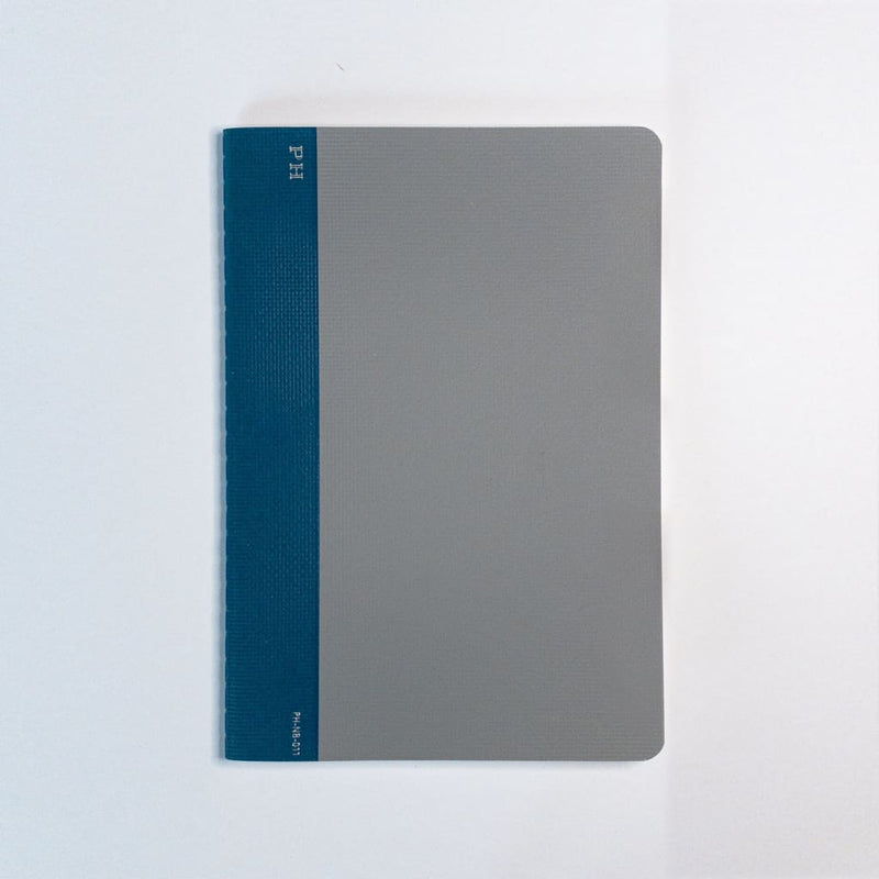 B6 Penco Hightide Cheesecloth Notebook Grey - notebooks Japanese Stationery