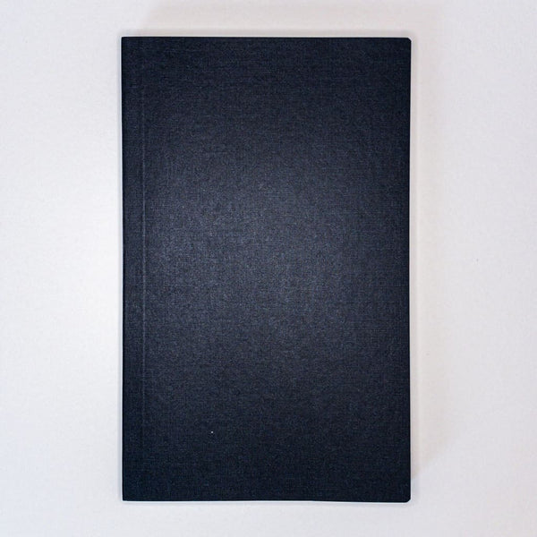 Black A5 Notebook 272 Pages - notebooks Japanese Stationery
