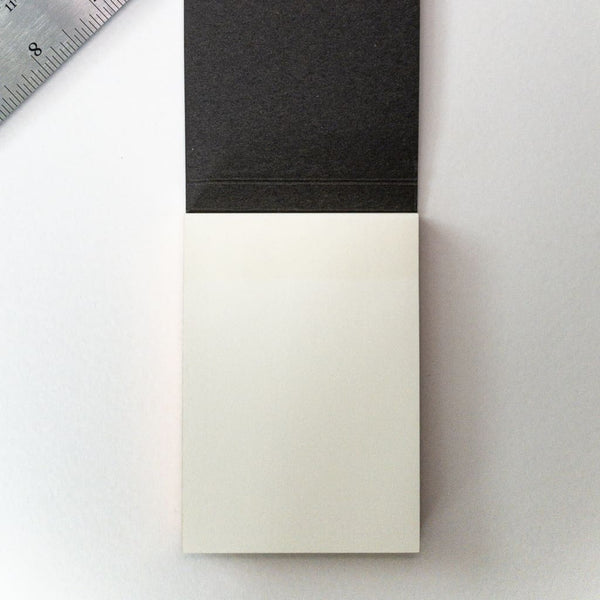 Charcoal Sticky Notes - notebooks Japanese Stationery