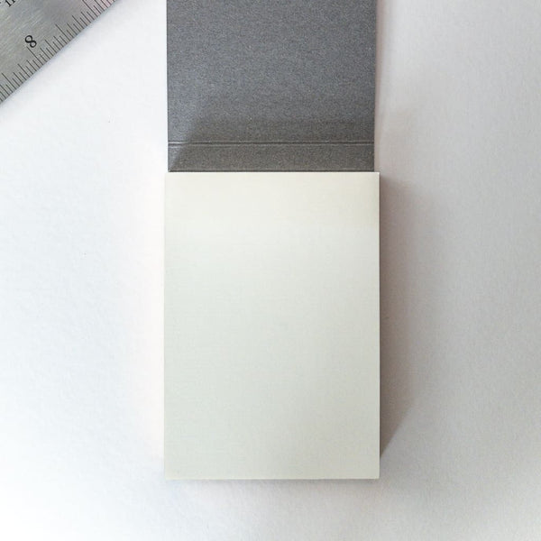Grey Sticky Notes - notebooks Japanese Stationery