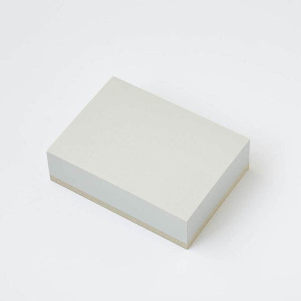 Medium Memo Block Gray Paper - notebooks Japanese Stationery