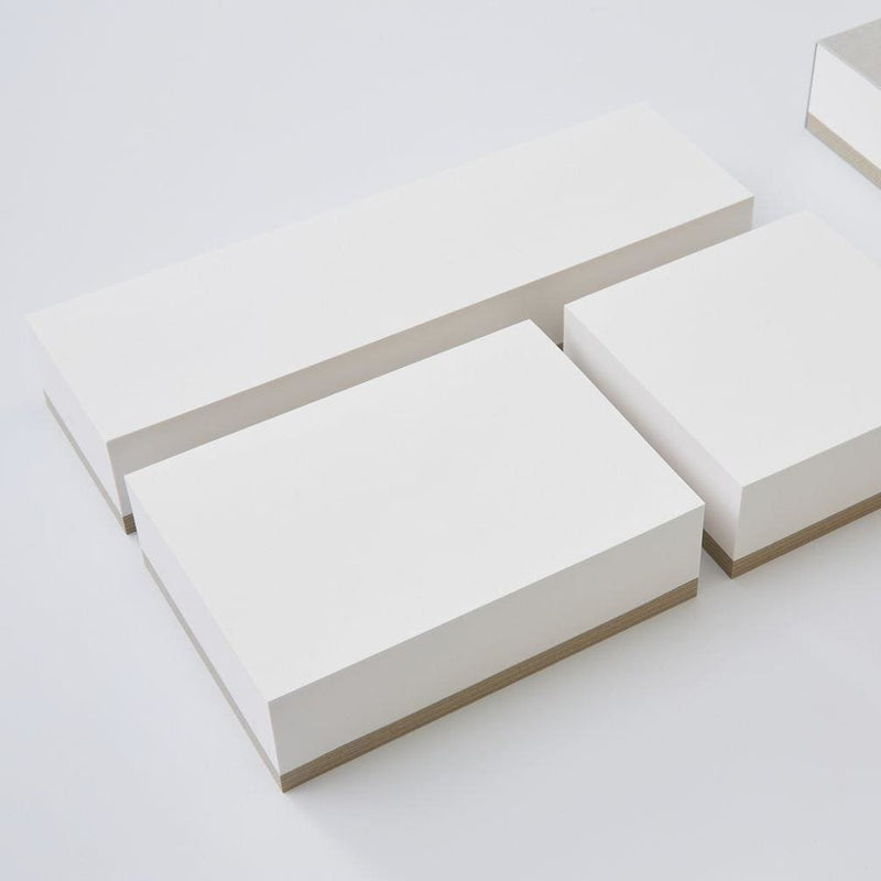 Large Memo Block White Paper - notebooks Japanese Stationery