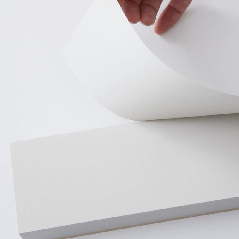 Medium Memo Block White Paper - notebooks Japanese Stationery