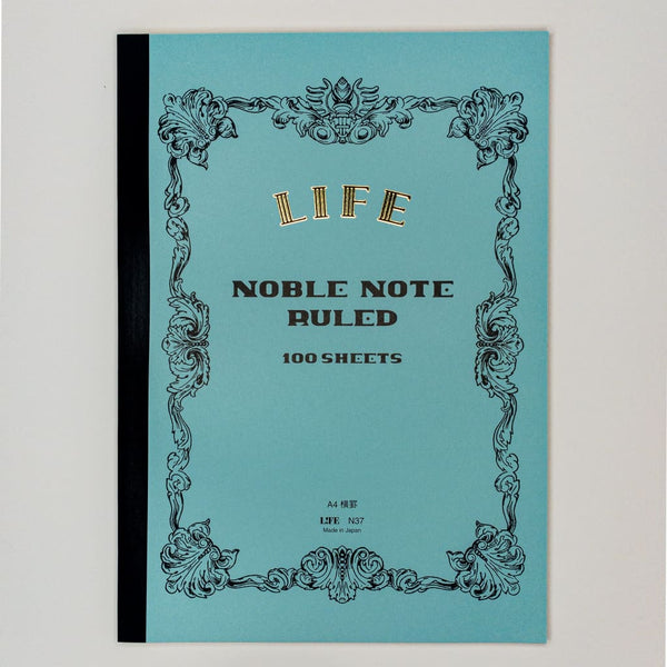 Noble Note A4 Notebook Lined Paper 100 Pages - notebooks Japanese Stationery