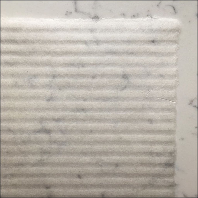 Striped Handmade Watermark Paper White-Ogawa Washi-Japan Stationery