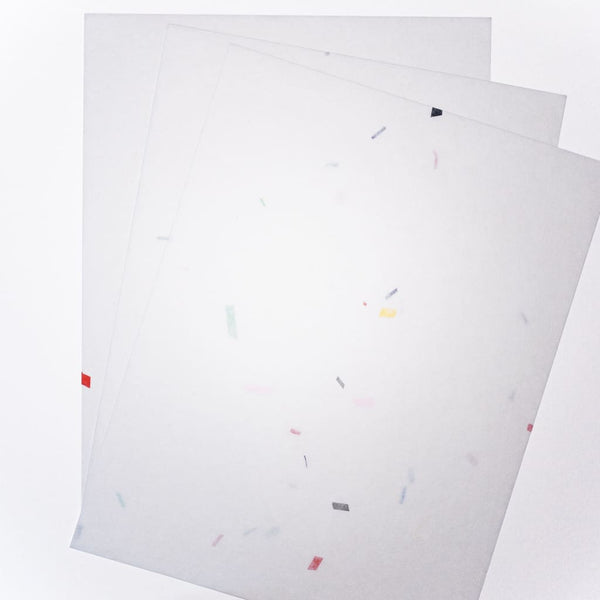 Tanabata Machine Milled Washi paper. 30 Sheets - paper Japanese Stationery