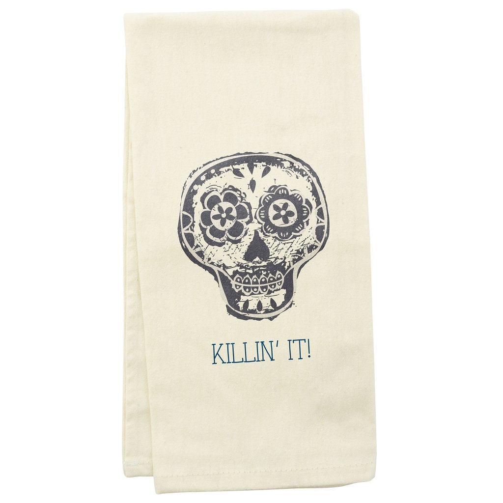 Tea Towels - Skull