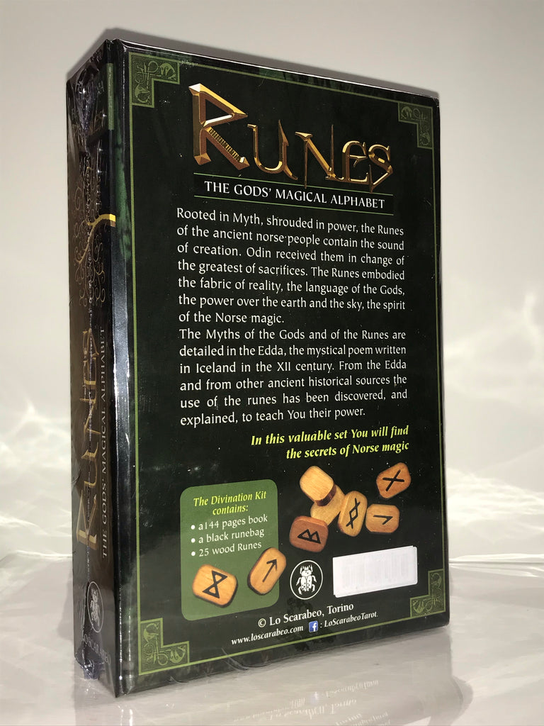 Runes Kit - The God's Magical Alphabet