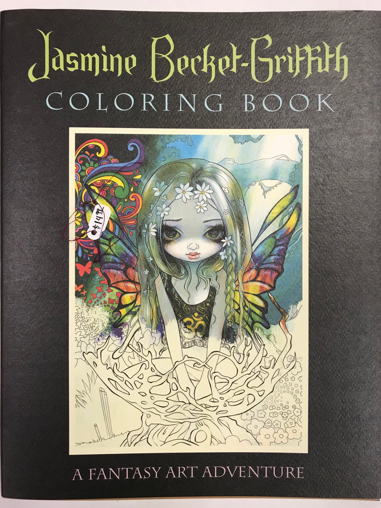 A Fantasy Art Adventure Coloring Book