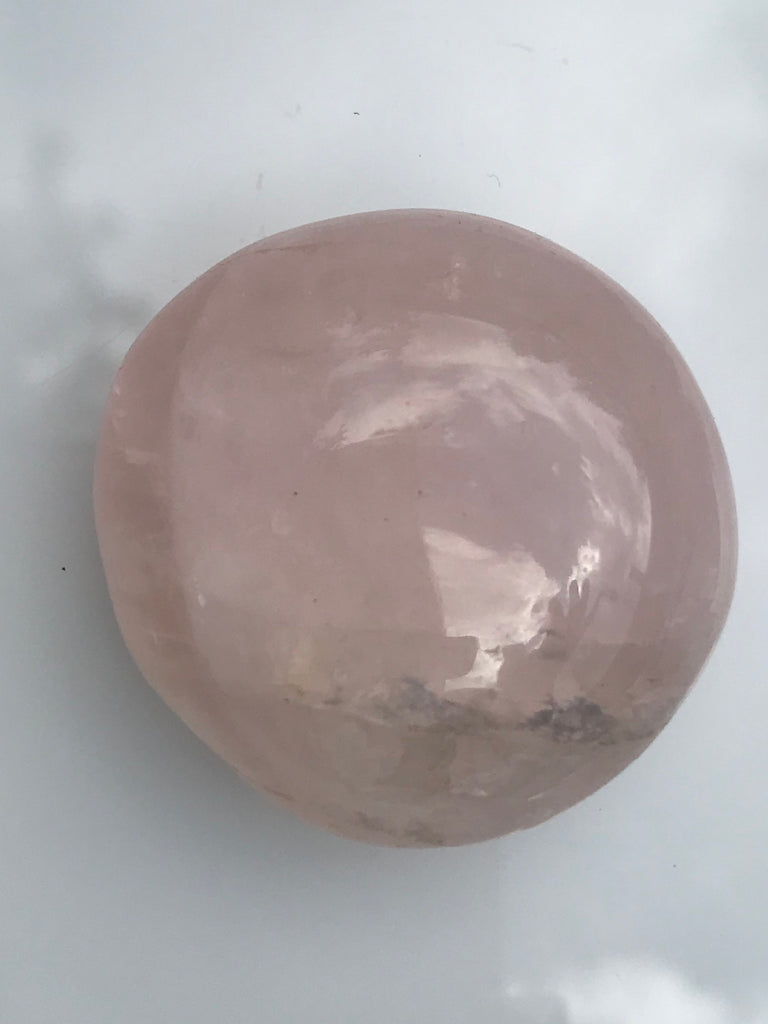 Rose Quartz Palm Stones